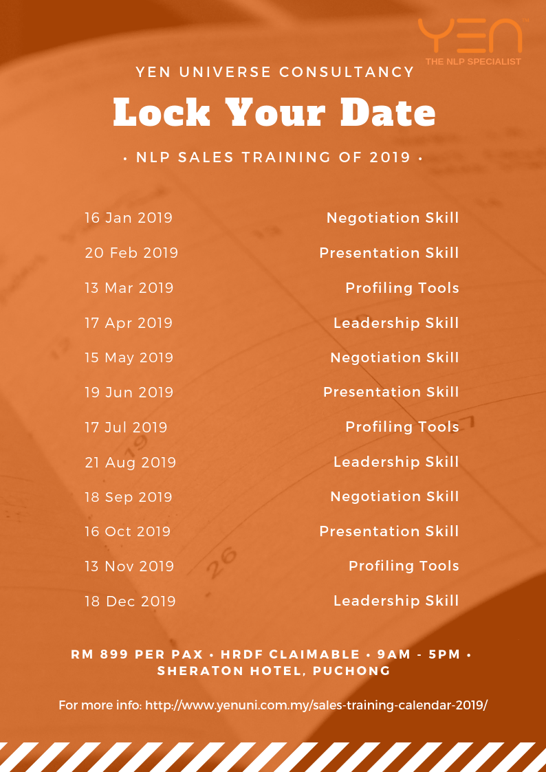 Sales Leadership Training - Yen Universe Consultancy
